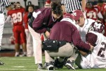 Injury on Football Field